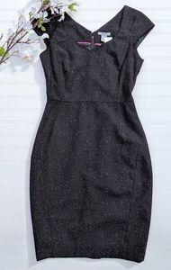 H&M Black Wool Blend Sheath Dress NWT!